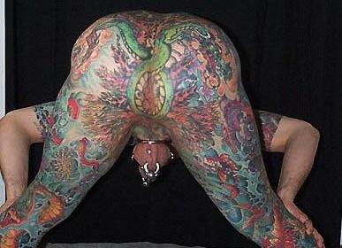 On asshole Tattoo